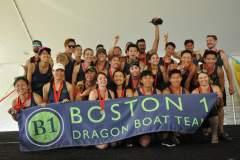 Boston 1 at the 2019 Boston Dragon Boat Festival