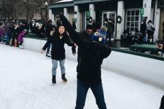 B1 goes Skating
